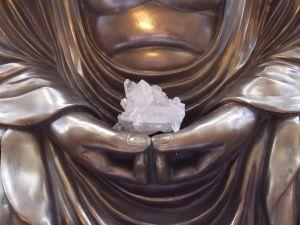 buddha crystal