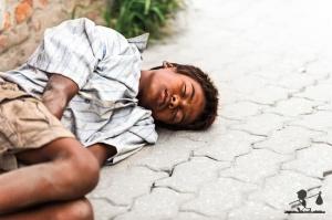 street sleeping